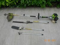 multi tool ( strimmer , chainsaw , trimmer )