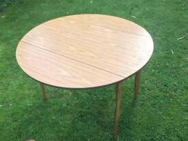 1950's/1960's Table and 2 chairs