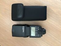 Canon 580EX II flash Mint with case.