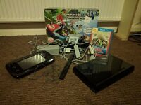 Wii U - 32GB Black - Mario Kart Edition