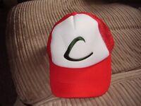 POKEMON BASEBALL CAP NEW ASHE,S