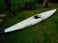 General Purpose Kayak With Spraydeck