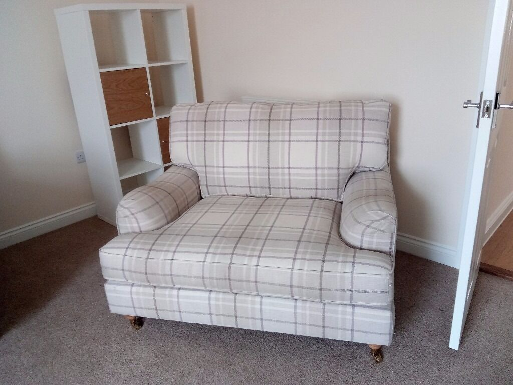 Nearly New Sofas Next Snuggle Chair Cur Fabric Homebase Sofa
