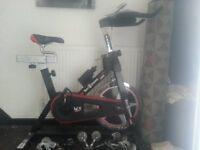 Execise bike.