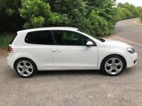 . 2011 Volkswagen Golf 2.0 Gt Tdi 3 Door White