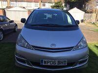 2006 Toyota Previa 2.4 VVT-i T Spirit 5dr (7 Seat) Automatic @07445775115@