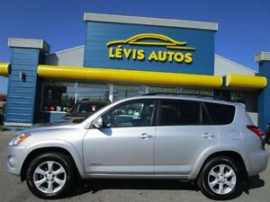 2012 Toyota RAV4 LIMITED AWD CUIR TOIT OUVRANT GPS 71800 KM !