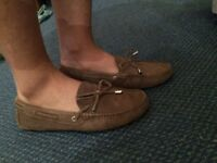 brown suede loafer soft and comfort