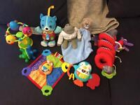 Range of baby toys need gone asap
