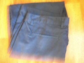 size 46l navy work trousers (new)