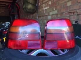 Volkswagen mk4 golf GTI rear lights
