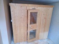 Sauna, Indoor, 4-5 people in Excellent Condition, 6KW Finnolme Sauna, dimension 1350 x 2024