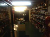 Off licence for rent no prenium!!!