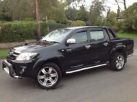 2006 TOYOTA HILUX INTIMIDATOR D/C 3.0 D4-D AUTO 4X4 BLACK ** ONE OF A KIND!!! ** LOW MILEAGE!!! **
