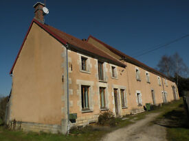 Beautiful traditional French steading in Burgundy, France