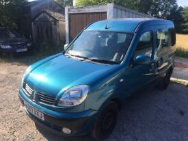 2007 RENAULT KANGO EXPRESSION 1.6 PETROL AUTO DAMAGE REPAIRABLE