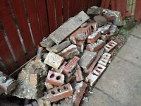 Quantity of rubble