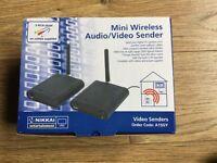 Mini wireless audio/video sender