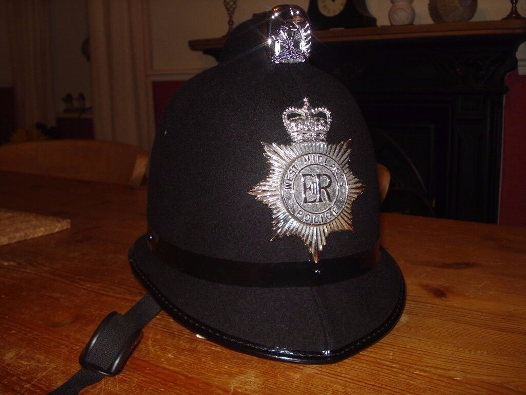 POLICE / CONSTABLE HELMET AS NEW CONDITION.