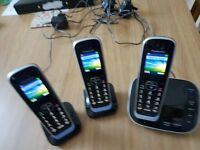 Panasonic 3 handsets and answering machine