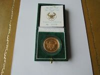 1986 22 carat Gold Proof Two Pound Coin 13th Commonwealth Games Edinburgh