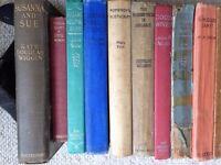 30x Classic Vintage Girls' Books