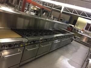 COMMERCIAL RANGES ON SALE!!!!!! 4 BURNER, SIX BURNER, STOCK POTS, COMBO OVENS AND MORE!!!!!!!