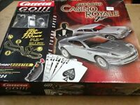 BNIB James Bond Casino Royale remote control racing track games
