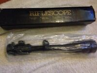 Tasco rifle scope Tactical 6-24x50 AOE
