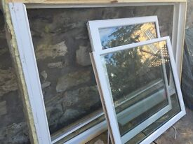 Timber traditional sash and case window - top quality double glazed, nearly new