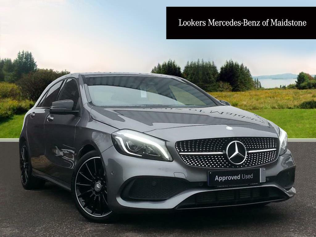 mercedes benz a class a 180 d amg line premium grey 2018 01 31 in maidstone kent gumtree. Black Bedroom Furniture Sets. Home Design Ideas