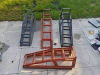3 sets cars ramps
