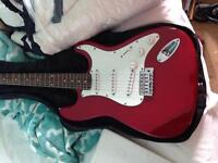Red guitar for sale