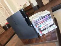 PlayStation 3 PS3 in excellent condition with 2 controllers and games