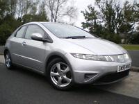 2006 Honda Civic 2.2i-CTDi SE Hatchback 5dr * LONG MOT * 3 MONTHS WARRANTY * FULL SERVICE HISTORY