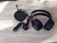 Sony MDR-RF810R Headband Wireless Headphones - Black