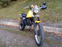 suizuki dr370, enduro , green lane , motorbike