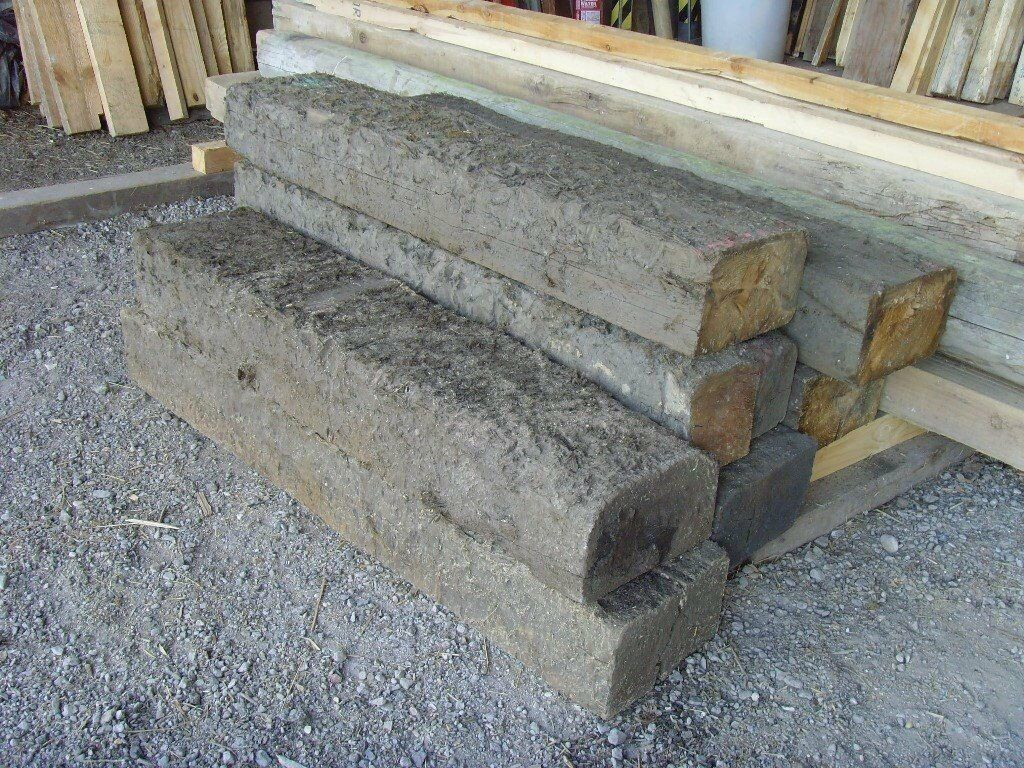 Railway sleepers 7 x Half sleepers 1.1m x 140mm x 230mm only10 eachin Woburn Sands, BuckinghamshireGumtree - Railway sleepers 7 x Half sleepers 1.1m x 140mm x 230mm only £10 each 2 x full sleepers 2.6m length only £20 each