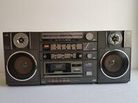Rare vintage JVC PC-150 Boombox radio cassette system
