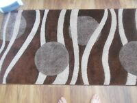"""Brand New Rug Browns & Creams From """"WAYFAIR"""" Unable To return."""