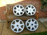 "Ford Escort RS1600i RS Turbo XR3i 16"" refurbished alloy wheels"
