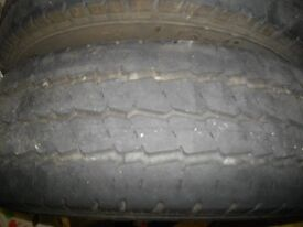 two part worn tyres for sale