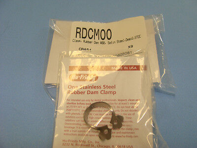 Dental Rubber Dam Clamp No 00 Rdcm00 Hu Friedy Original Special Price