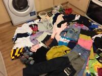 80 items children's clothes bundle