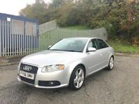 2006(56) Audi A4 2.0 TDI S-Line 140BHP 1 Previous Owner + Not Audi A3 VW Golf