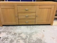 For sale large sideboard measuring 205cm x 50cm. Great condition, collection only.
