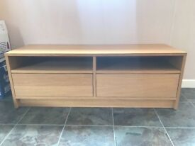 "40"" Wood Effect TV Cabinet Perfect Condition"