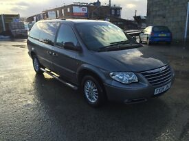 "Chrysler Grand Voyager 2.8 CRD ""STOW & GO"" 87k miles. Service History. Top of the range. £3500 ovno"