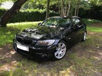 -BMW 318D M SPORT AUTO 2009 120K FSH BLACK-