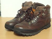 Men's Timberland brown hiking boots size 8.5
